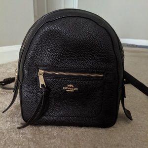 Black Coach backpack